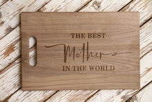 Load image into Gallery viewer, Mother's Day Cutting Board