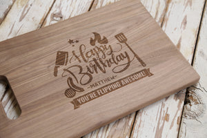 Happy Birthday Cutting Board