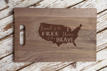 Load image into Gallery viewer, Patriotic Cutting Board