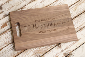 Wedding Cutting Board