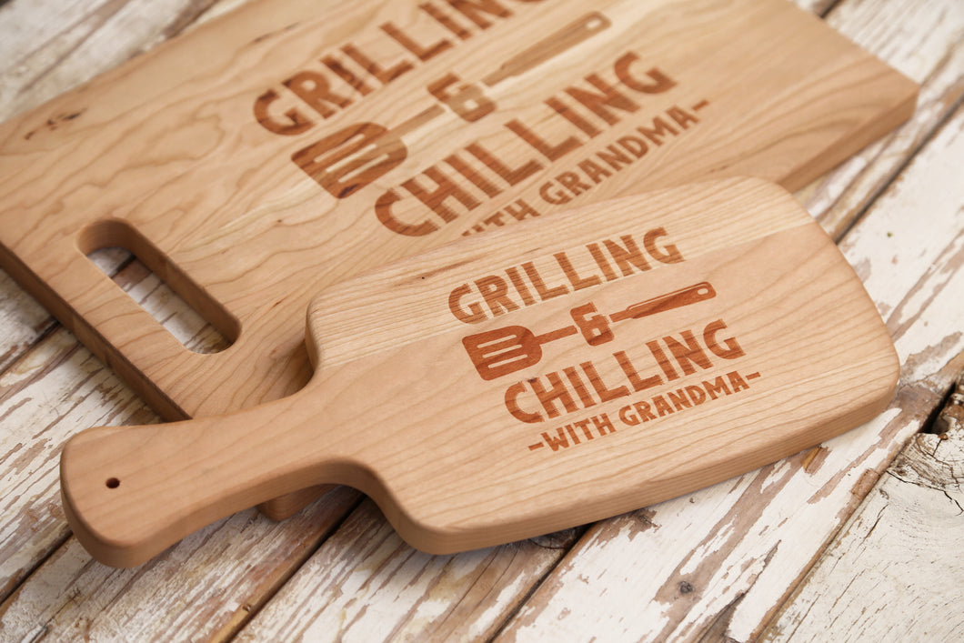 Grilling and Chilling Cutting Board