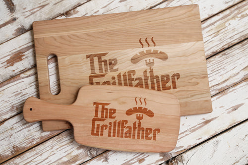 Grill Father Cutting Board