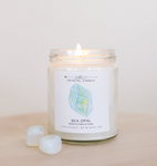Crystal Gemstone Candles - La Mère Clothing + Goods
