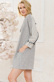 Striped Shirt Dress - La Mère Clothing + Goods