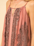 Scarf Print Maxi Dress - La Mère Clothing + Goods