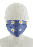 Daisy Print Mask - La Mère Clothing + Goods
