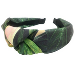 Tropical Print Knotted Headband - La Mère Clothing + Goods