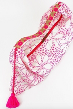 Load image into Gallery viewer, Pink Hand Woven Hobo Bag - La Mère Clothing + Goods