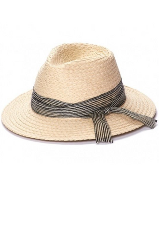 Natural Straw Panama Hat - La Mère Clothing + Goods