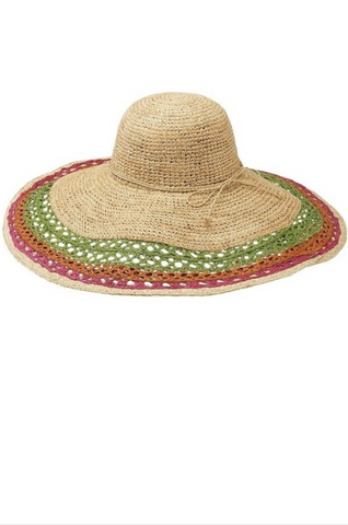 Natural Straw Beach Hat - La Mère Clothing + Goods