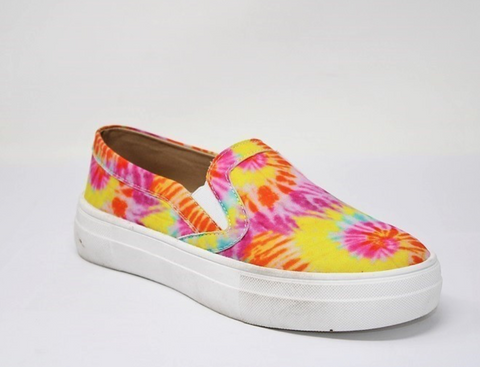 Tie Dye Slip On Shoes - La Mère Clothing + Goods