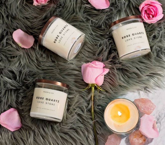 Crystal Soy Candle - La Mère Clothing + Goods