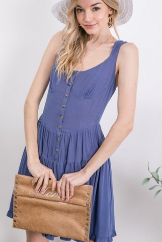 Sleeveless Wildflower Dress - La Mère Clothing + Goods