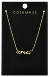 Gold Zodiac Necklace - La Mère Clothing + Goods