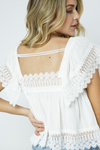 Open Back Babydoll Top - La Mère Clothing + Goods