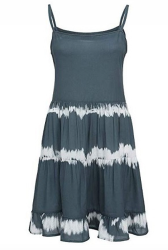 Tie Dye Sleeveless Maxi Dress - La Mère Clothing + Goods
