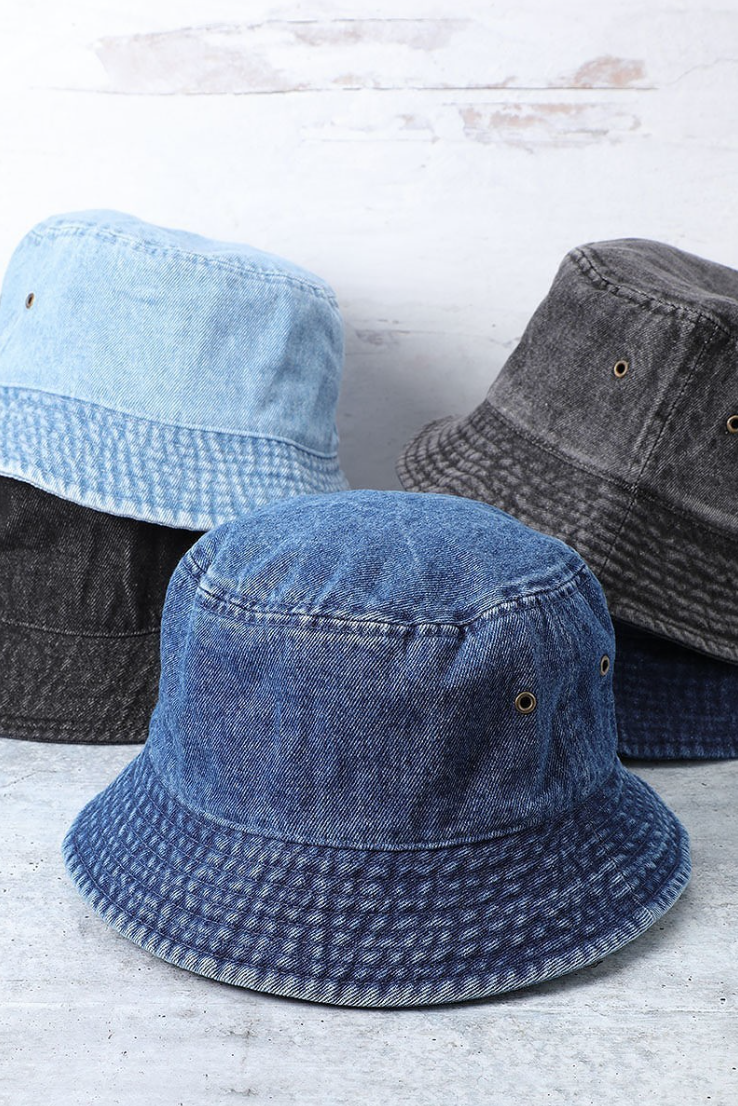 Canvas Bucket Hat - La Mère Clothing + Goods