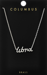 Silver Zodiac Necklace - La Mère Clothing + Goods