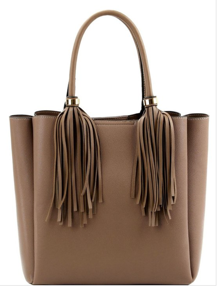 Fringe Tassel Bag - La Mère Clothing + Goods