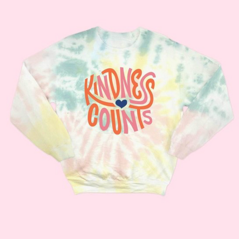 Kindness Counts Sweatshirt - La Mère Clothing + Goods