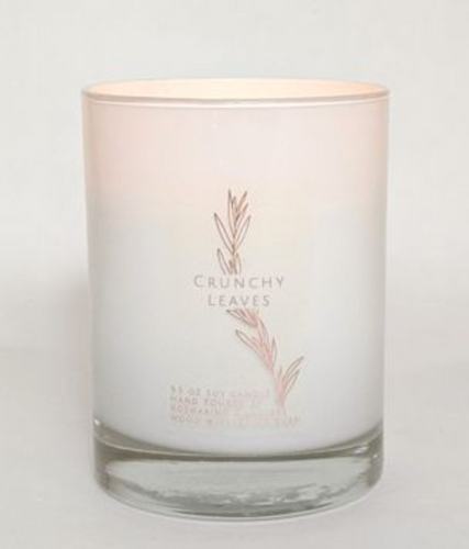 Crunchy Leaves Wood-wick Candle - La Mère Clothing + Goods