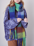 Stripes and Fringes Scarf - La Mère Clothing + Goods