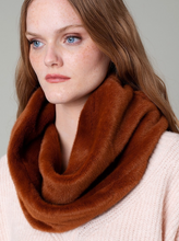 Load image into Gallery viewer, Faux Mink Infinity Scarf - La Mère Clothing + Goods