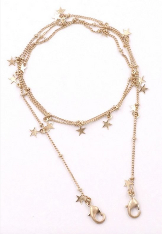 Stars Mask Chain - La Mère Clothing + Goods