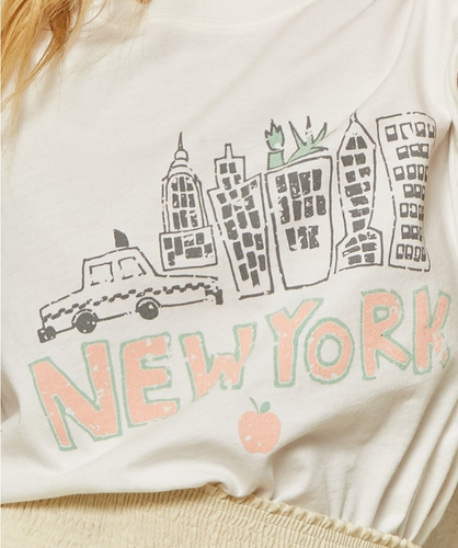 New York Graphic Tee - La Mère Clothing + Goods