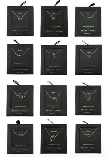 Zodiac Constellation Necklaces - La Mère Clothing + Goods