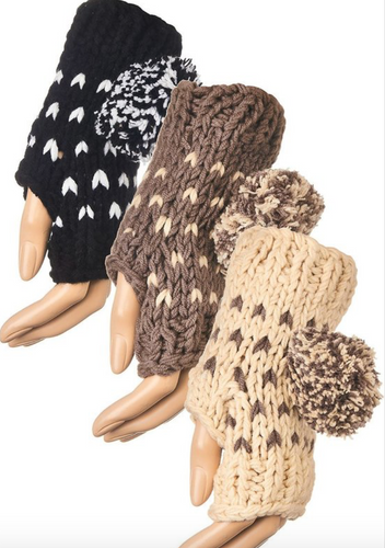 Fingerless Gloves - La Mère Clothing + Goods