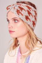 Load image into Gallery viewer, Houndstooth Headwrap - La Mère Clothing + Goods