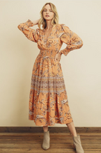 Load image into Gallery viewer, Apricot Midi Dress - La Mère Clothing + Goods