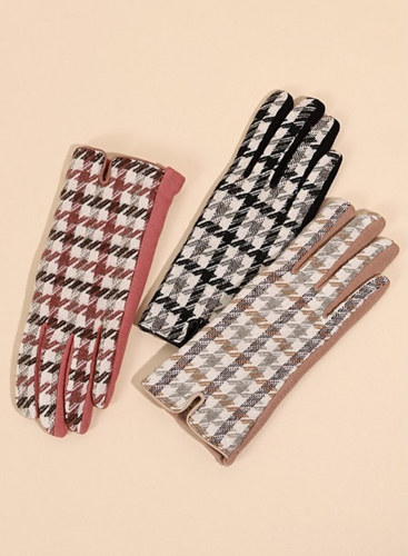 Two Tone Gloves - La Mère Clothing + Goods