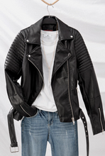 Load image into Gallery viewer, Biker Jacket - La Mère Clothing + Goods