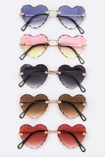 Load image into Gallery viewer, Heart Eyes Sunglasses - La Mère Clothing + Goods