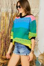 Load image into Gallery viewer, Rainbow Sweater - La Mère Clothing + Goods
