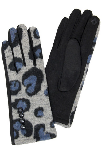 Leopard Gloves - La Mère Clothing + Goods