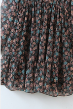 Load image into Gallery viewer, Sunday Floral Tie Neck Mini Dress - La Mère Clothing + Goods
