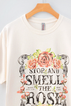 Load image into Gallery viewer, Smell the Rose Tee - La Mère Clothing + Goods