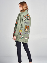 Load image into Gallery viewer, Blind Love Military Jacket - La Mère Clothing + Goods