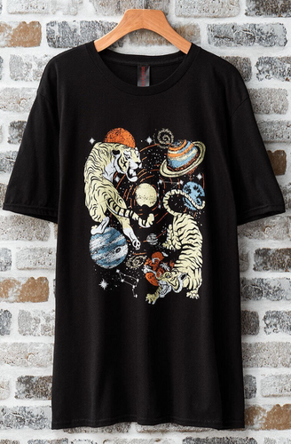 Tiger Universal Graphic Tee - La Mère Clothing + Goods