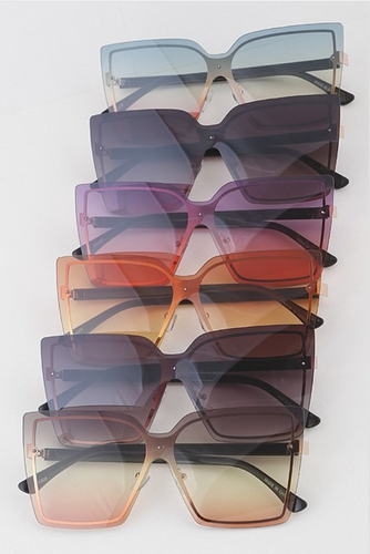 Oversized Lens Sunglasses - La Mère Clothing + Goods