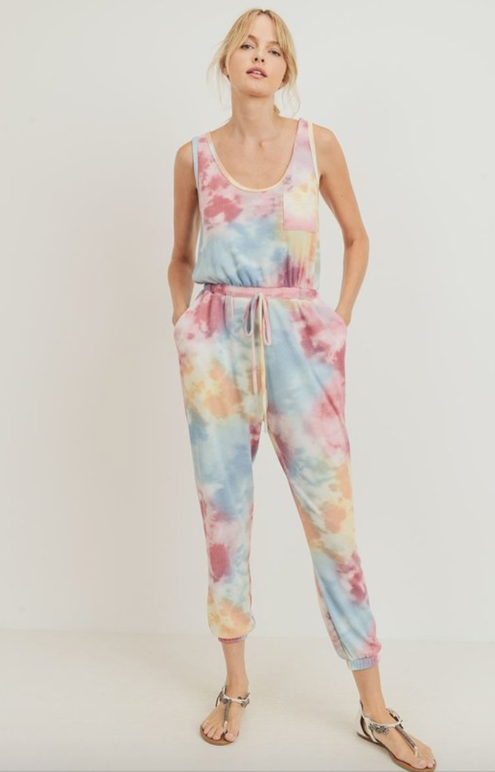 Tie Dye Jumpsuit - La Mère Clothing + Goods