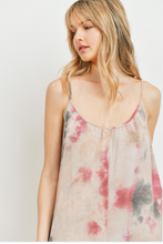 Load image into Gallery viewer, Sleeveless Tie Dye Culotte Jumpsuit - La Mère Clothing + Goods