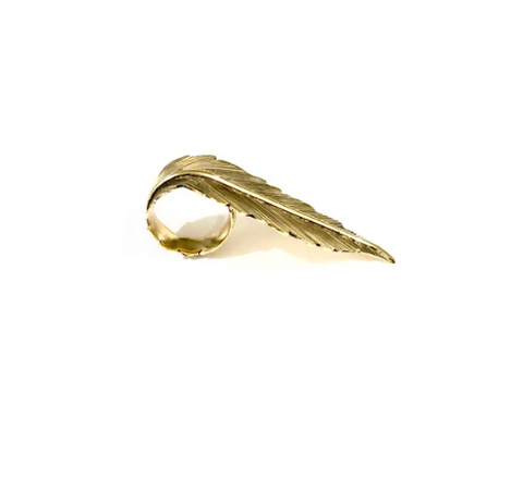 Jala Leaf Ring
