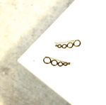 Shola Ear Climbers - La Mère Clothing + Goods