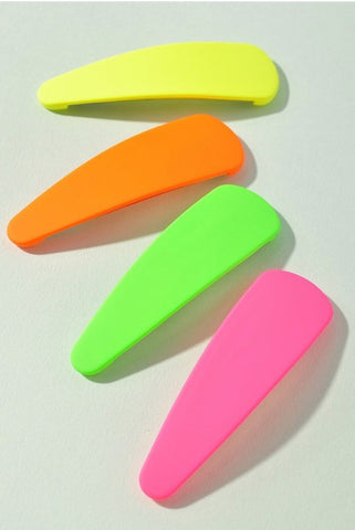 Neon Barrettes - La Mère Clothing + Goods