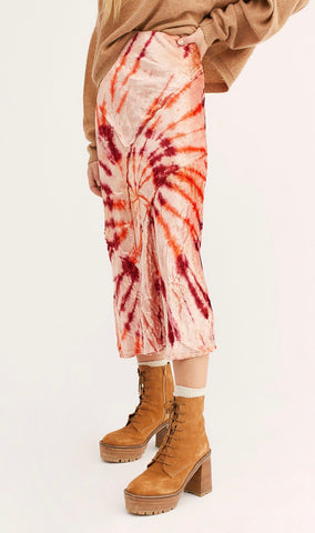 Serious Swagger Tie Dye Skirt - La Mère Clothing + Goods