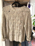 Speckle Sweater Top